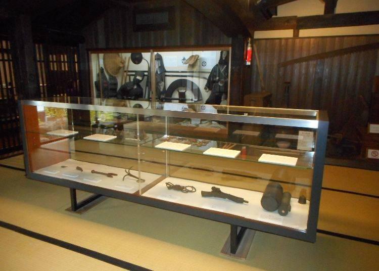 The ninja history room