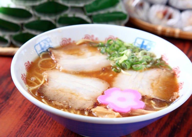 2. Ide Shoten's tonkotsu ramen, born from failure!