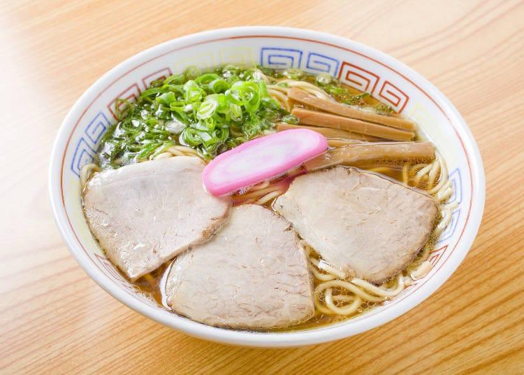 4. Maruki's Chuka Soba: Simple is Best!
