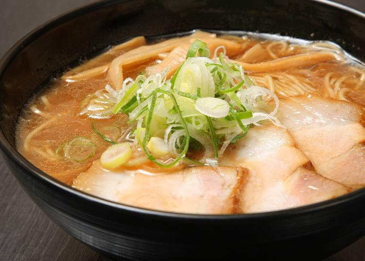 3. 由日式料理的專業廚師製作的拉麵「京橋幸太郎」