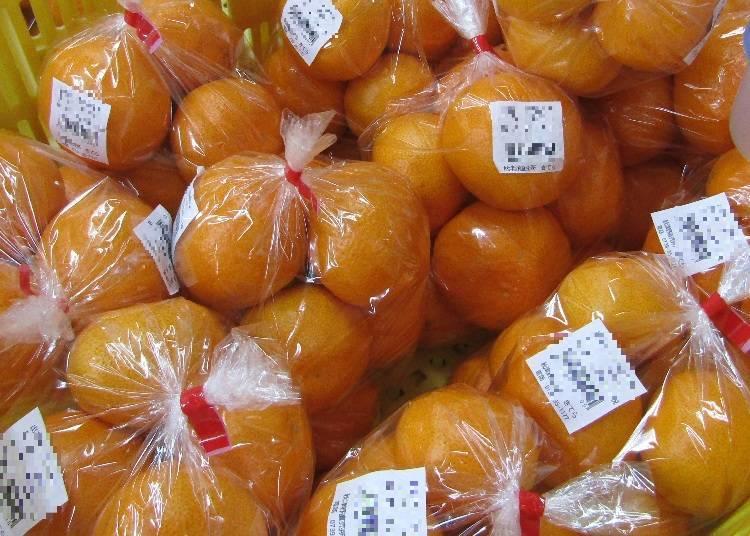 在這裡可以買得到和歌山的橘子!
