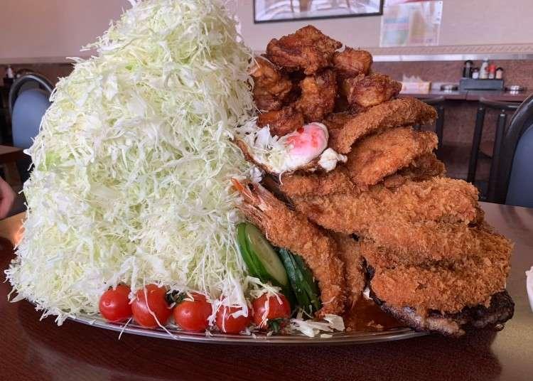 大阪3款「巨無霸美食」驚人份量上桌!來場大胃王挑戰吧