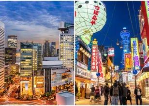 The Distinct Personalities of Osaka: Are You Minami or Kita?