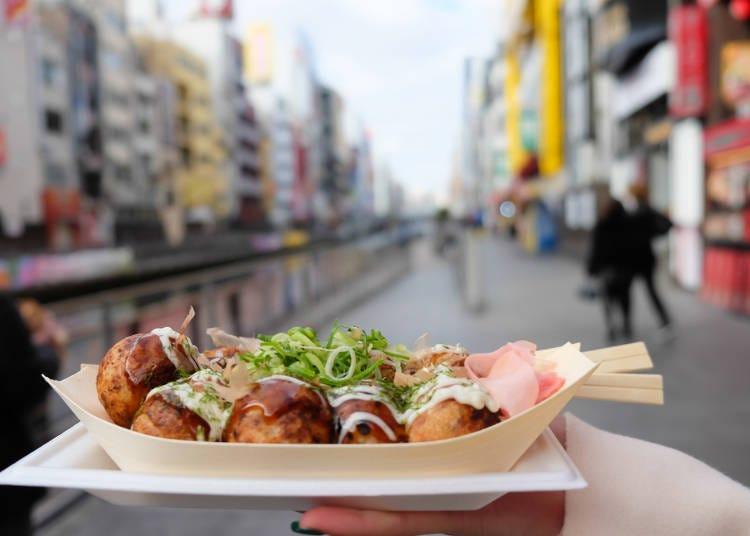 Q.安くておいしい大阪グルメを食べるならどっち?