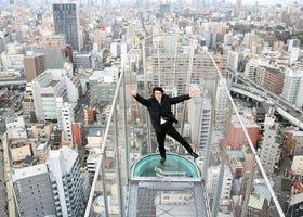 懼高症注意!大阪通天閣「戶外懸空展望台」直擊體驗