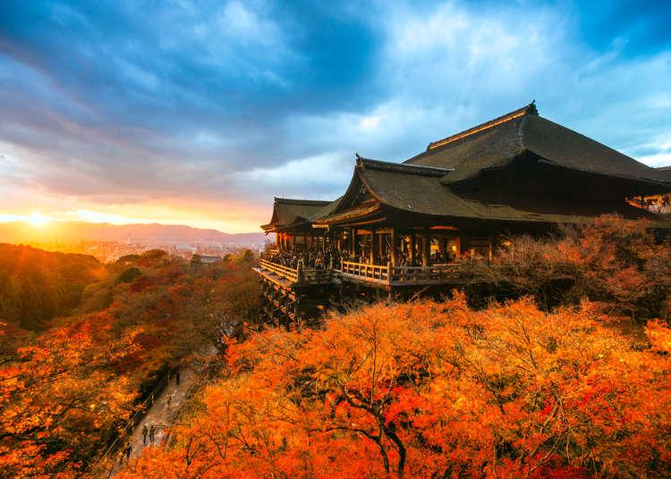 京都の秋(9月・10月・11月)の天気と服装まとめ【北部と南部で違う】