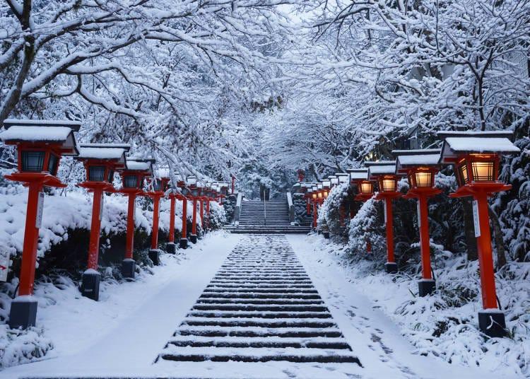■교토의 1월 날씨