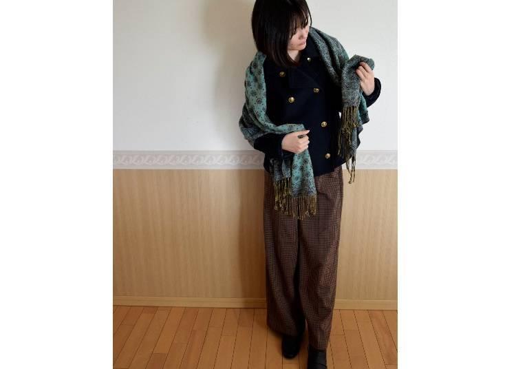 ■고베의 3월에 알맞은 옷차림은?
