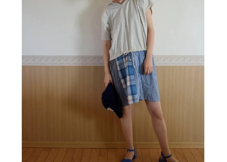 ■고베의 8월에 알맞은 옷차림은?