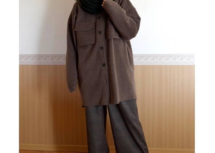 ■고베의 1월에 알맞은 옷차림은?