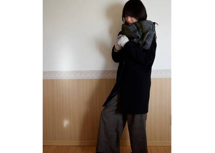 ■고베의 2월에 알맞은 옷차림은?