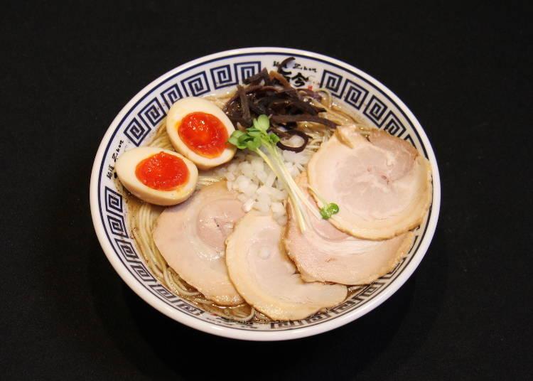 【1日目11:30】ランチは大阪城下町でラーメン!