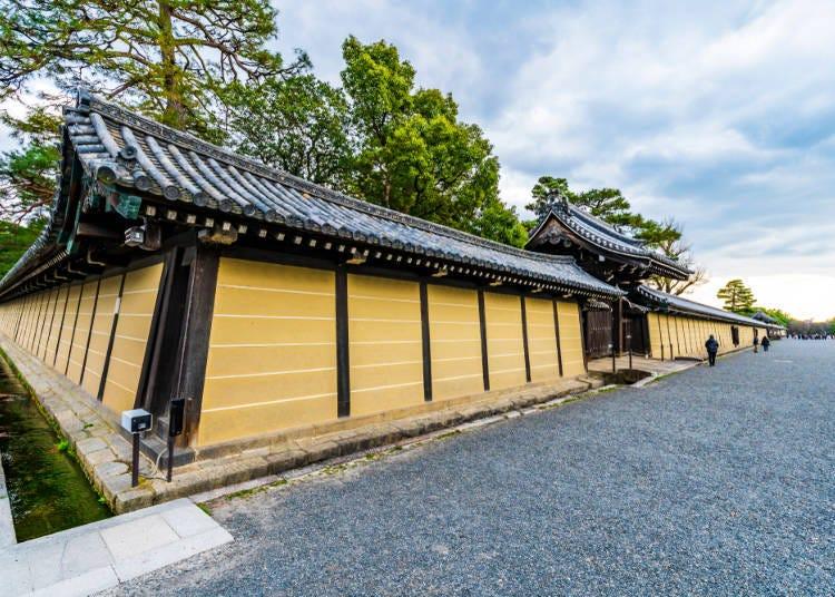 08:45 參觀「京都御苑」:從京都市營地下鐵「京都站」前往「今出川站」(乘車約10分鐘)