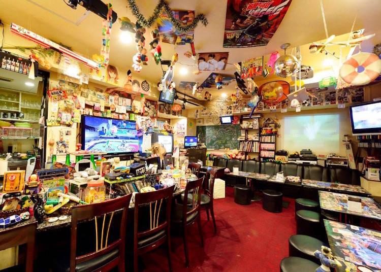 23:00~日本懷舊的口味!下課後的零食雜貨店酒吧「A-55」