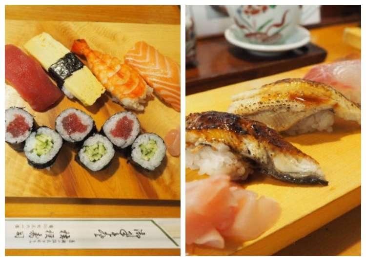 교토의 인기 스시 맛집! 가격은 2,000엔 안팎!