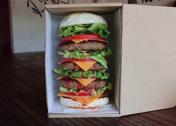 Smile Burger take out is possible - and don't miss their ice cream bar!