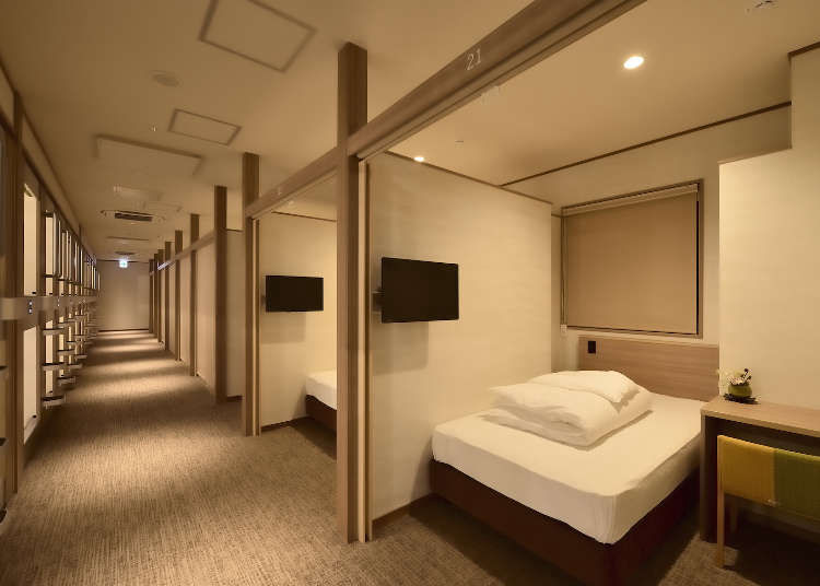 Top 5 Osaka Capsule Hotels You Should Experience in Japan's City of Food! (From $20/night)