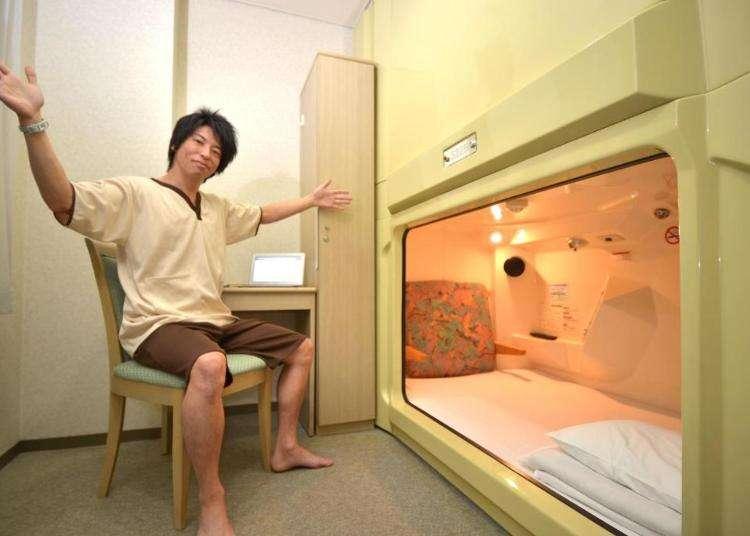 【女性専用あり】難波の快適な「カプセルホテル」おすすめ5選