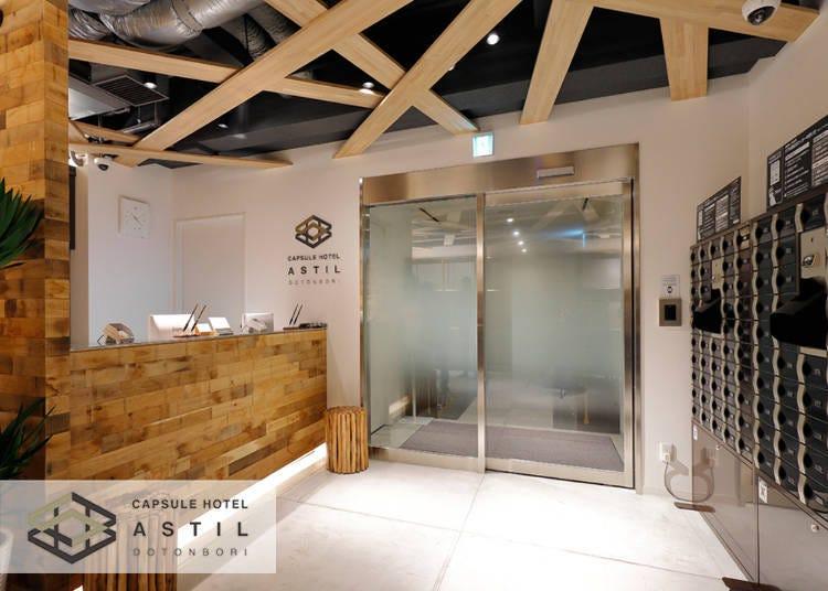 3. Astil Dotonbori: Capsule Hotel in Osaka with Impeccable Service
