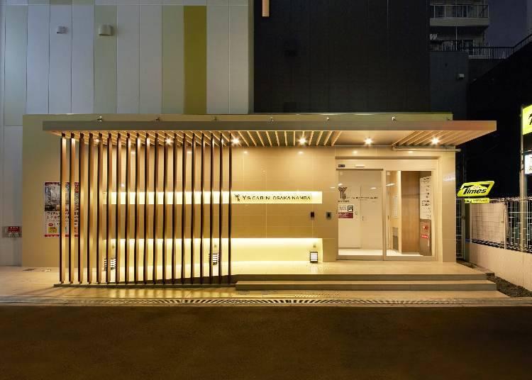 4. Y's Cabin Osaka Namba: Full selection of beauty care goods! (Osaka capsule hotel for women)