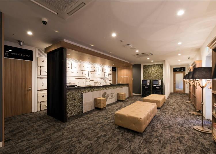 5. a-STYLE Shinsaibashi: Cosmetics rental available (Osaka capsule hotel for women)