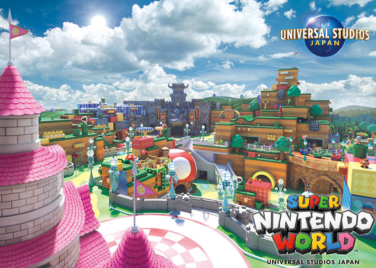 Opening in 2020! The world's first Nintendo theme area Super Nintendo World will open in Universal Studios Japan!