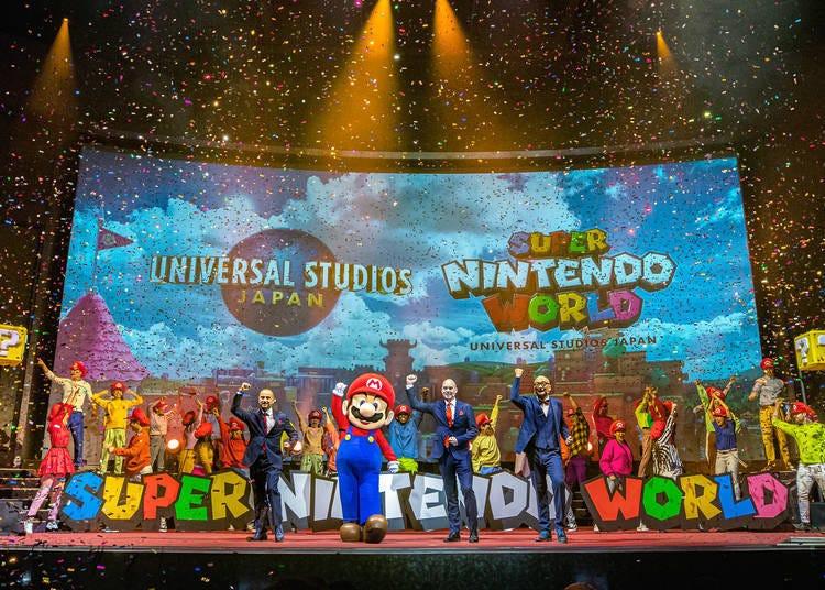 What is Super Nintendo World?