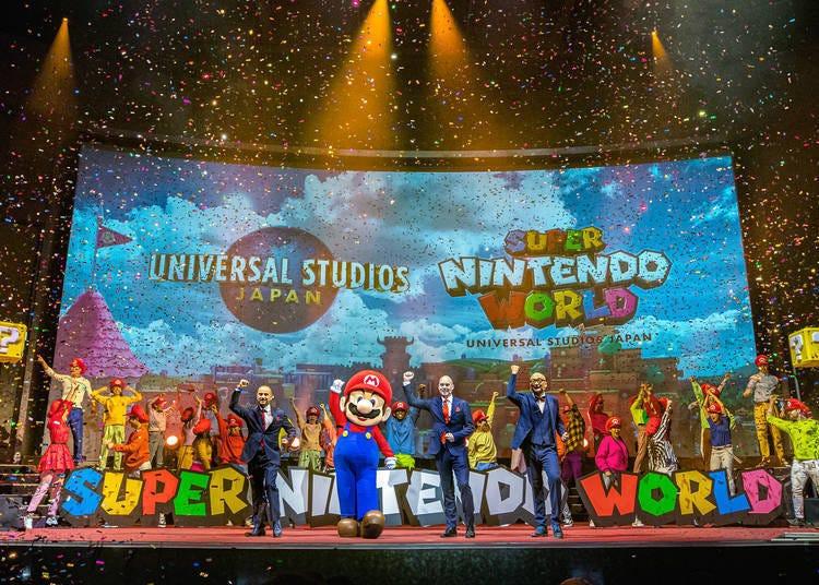 「超级任天堂世界(SUPER NINTENDO WORLD)」基本概要