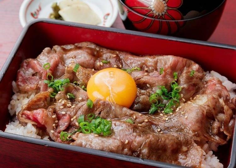 日本米推薦究極美味料理⑤:寺町 YOSHIKURA(京都)/京都風壽喜燒蓋飯