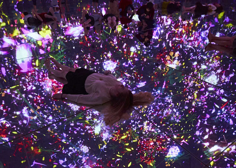 """'Showered in Light' - How These 10 Tourists Fell in Love With """"teamLab Planets TOKYO""""!"""
