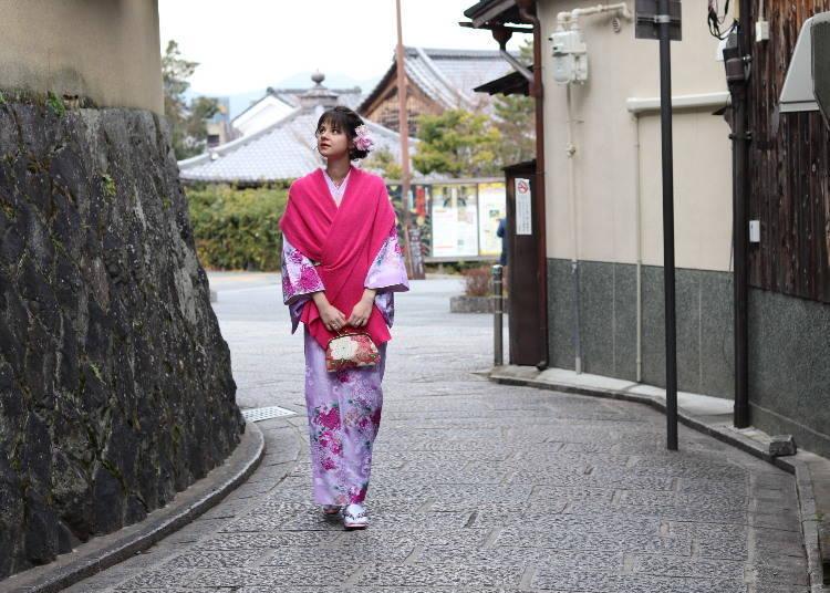 Great sightseeing spots all around Ichinenzaka and Ninenzaka
