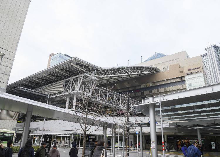 観光の拠点となる大阪・梅田