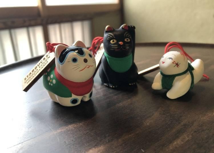 星巴克「京都二寧坂YASAKA茶屋店」洋溢職人技藝的限定吊飾紀念品