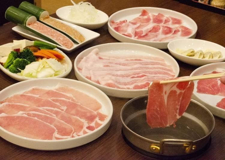 4种猪肉涮涮锅吃到饱只要1880日元!