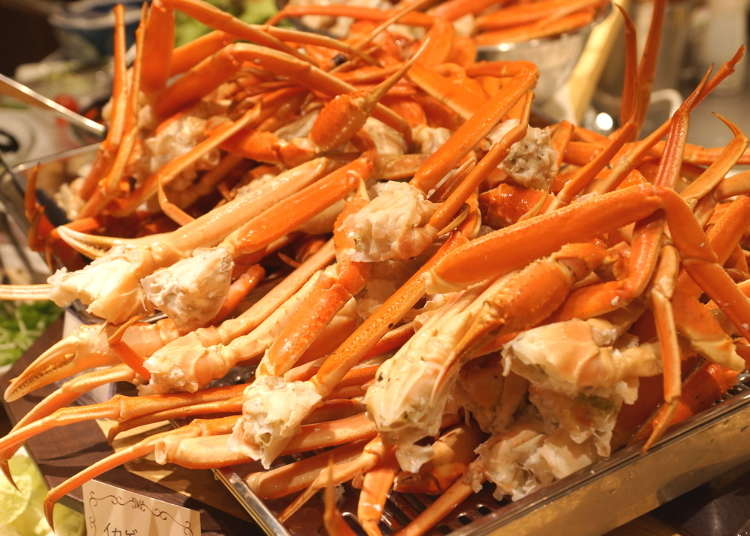 Our Foodie Expert Shares the 3 Best All-you-can-eat Osaka Crab Restaurants