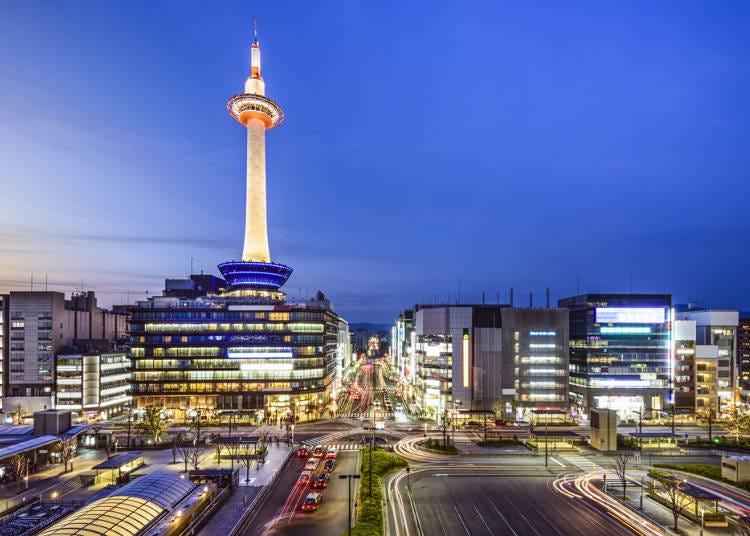 ■9:観光エリアが広い京都。どこに泊まるのが便利?