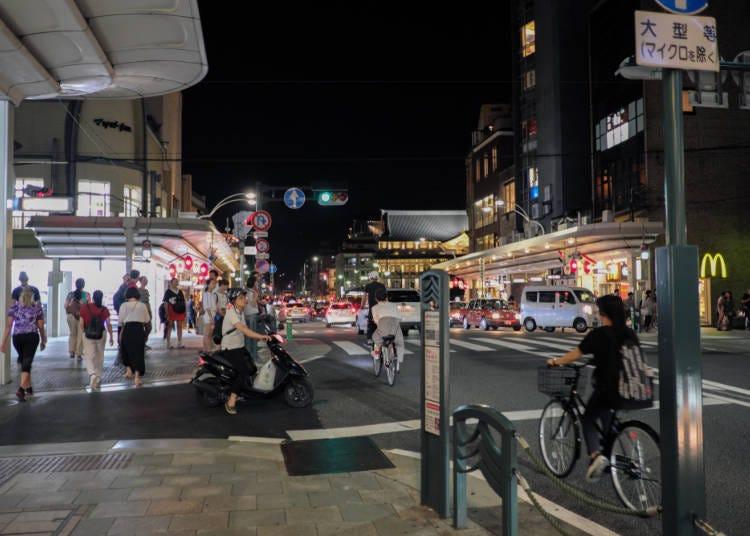 京都深度旅遊秘招1:整齊的棋盤式街道,但連計程車司機都聽不懂地址?