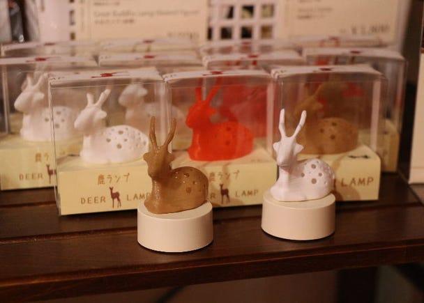 Deer lamp (white/red/coffee brown)