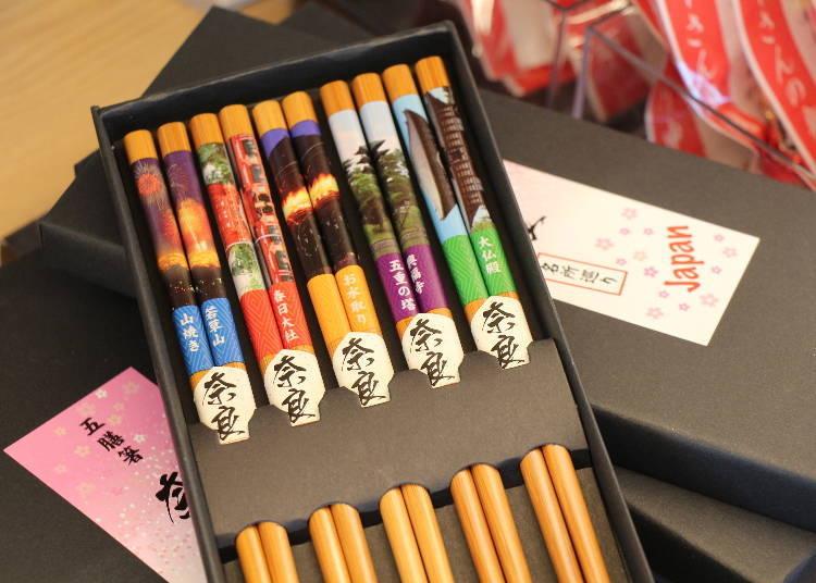 奈良車站周邊必買12. 五膳筷「奈良」