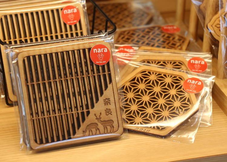奈良車站周邊必買14. Nara杯墊
