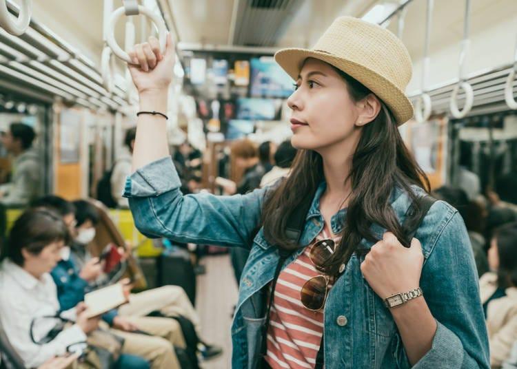 전철이나 지하철 노선이 너무 많아 헷갈리면서 편리하다?!