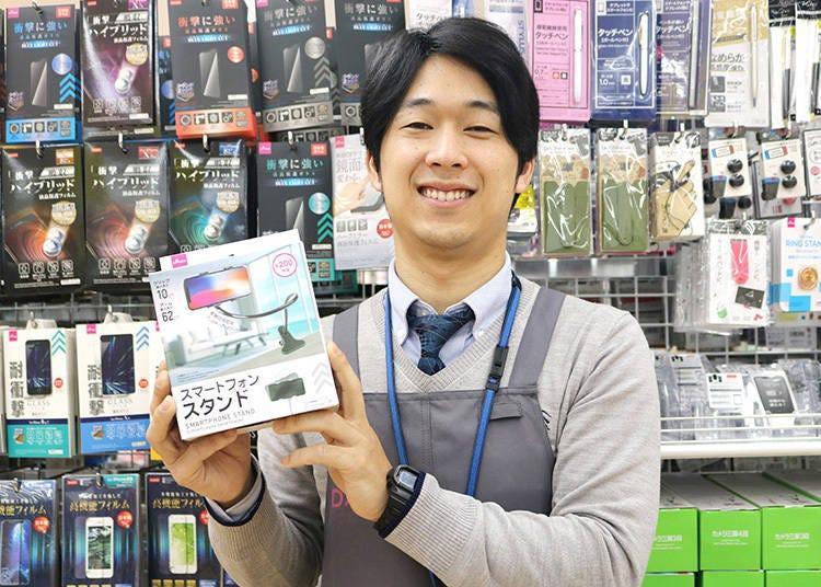 【その3】店長イチオシ!「スマートフォンスタンド」
