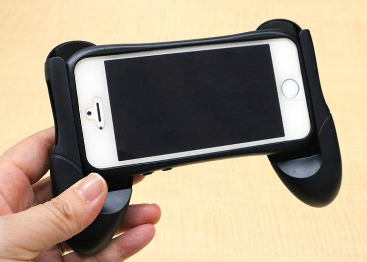 【4】 스마트폰이 컨트롤러로! 「스마트폰 홀더」