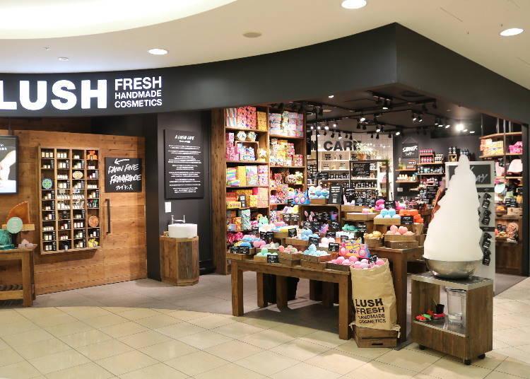 ■A hearty product line at Lush Osaka (3F)