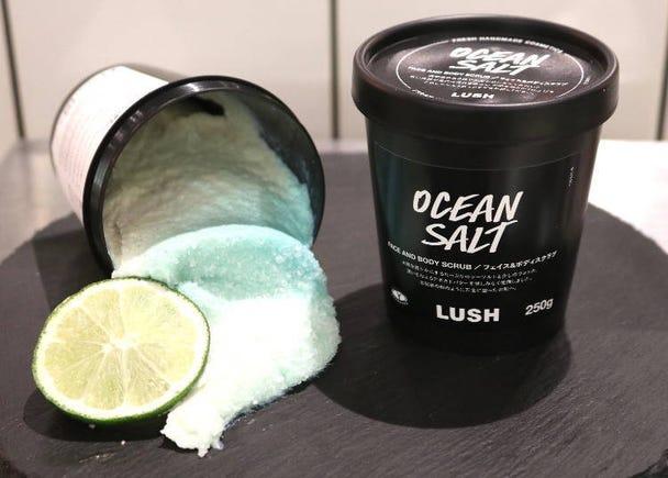 """1. """" Birth of Venus Ocean Salt"""" face & body scrub"""