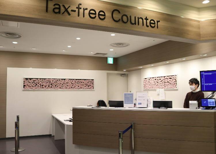 難波CITY的外國遊客專屬優惠服務:免稅、自動兌換外幣、寄放行李、宅配