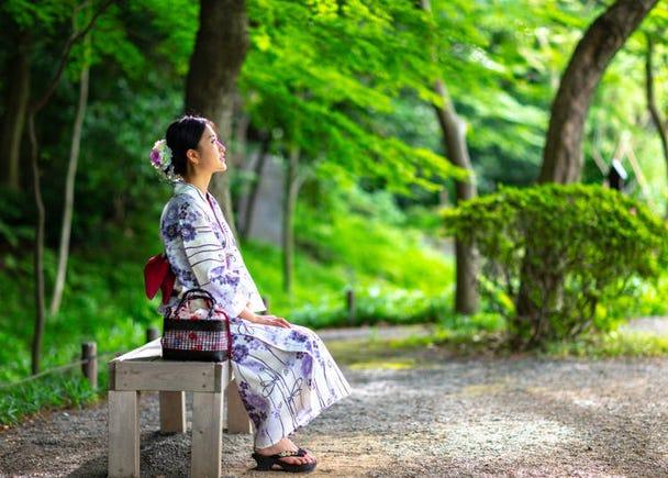 5. Try wearing a yukata at the Gion Festival or Gozan no Okuribi