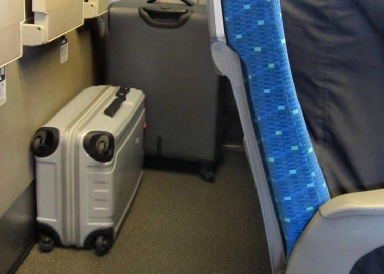 特大行李放置處在哪裡?
