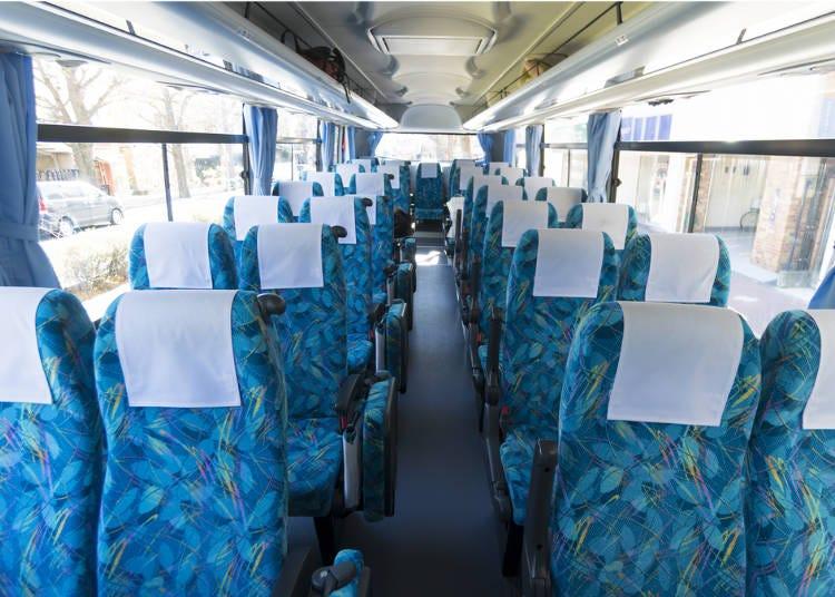高速バス:リーズナブルで移動時間を有効活用できる