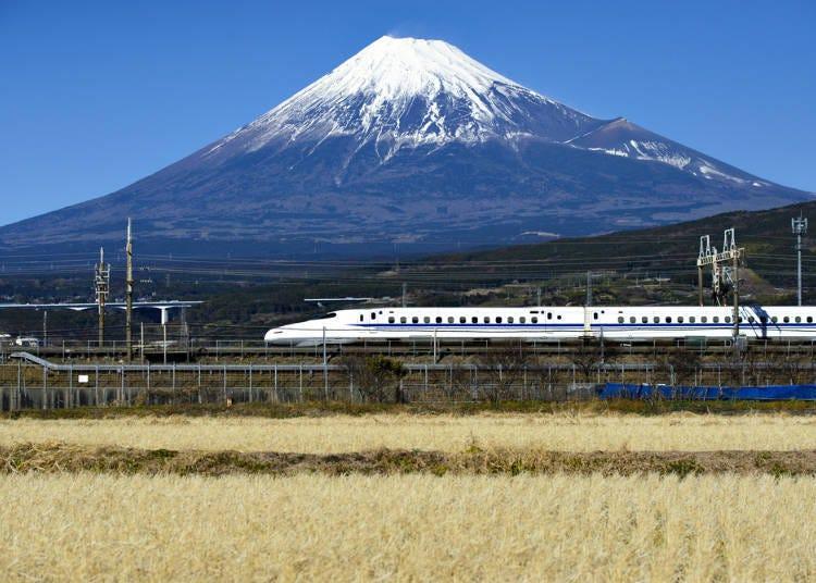 從東京到大阪①新幹線:行駛班次多,最方便
